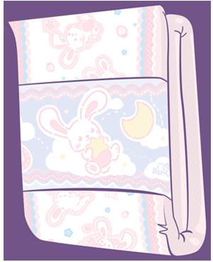 ABUniverse BunnyHopps 2-Tape Diapers