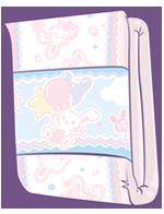 ABUniverse BunnyHopps 2-Tape Day Diaper