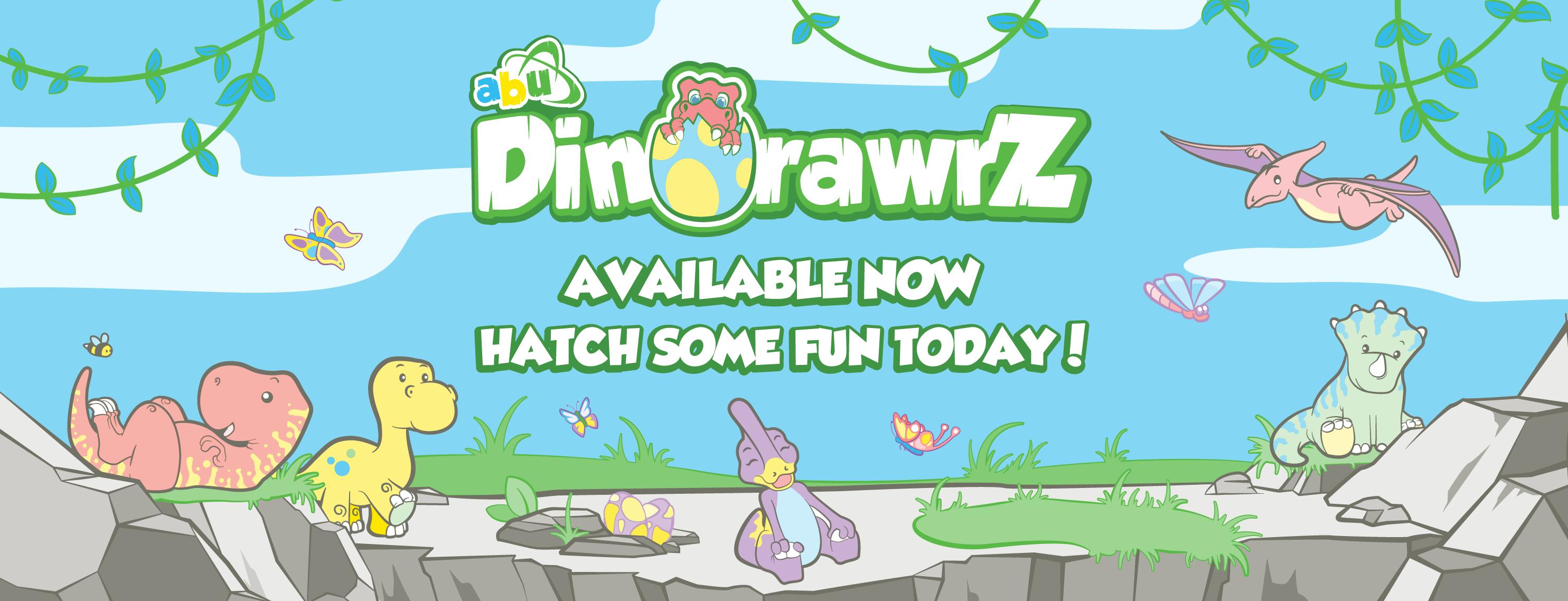 ABU DinoRawrZ Release Banner