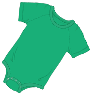 ABUniverse Coloured DiaperSuit Green